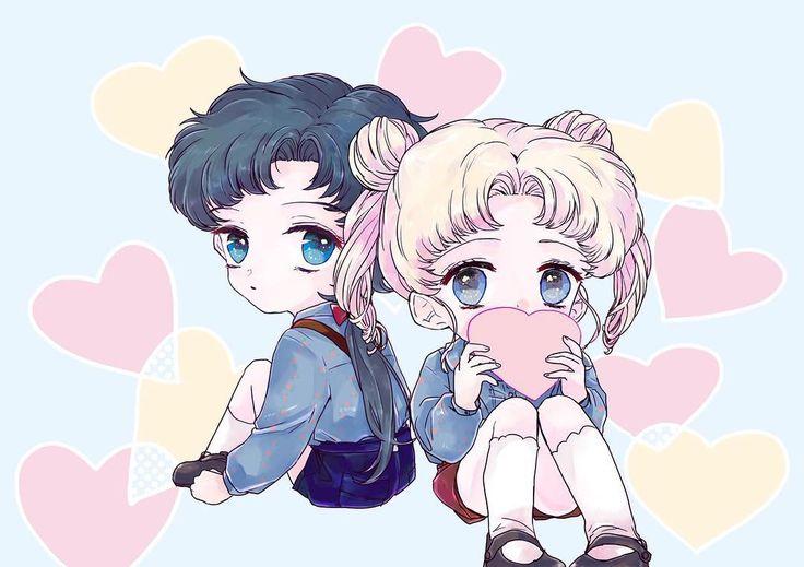 "1,849 Me gusta, 4 comentarios - Sailor Moon DM (@sailormoonusa) en Instagram: ""Usagi and Seiya by i_ch_unko_ysd #セーラームーン展 #セーラームーン #sailormoon90s #sailormooncrystal  #usagi…"""