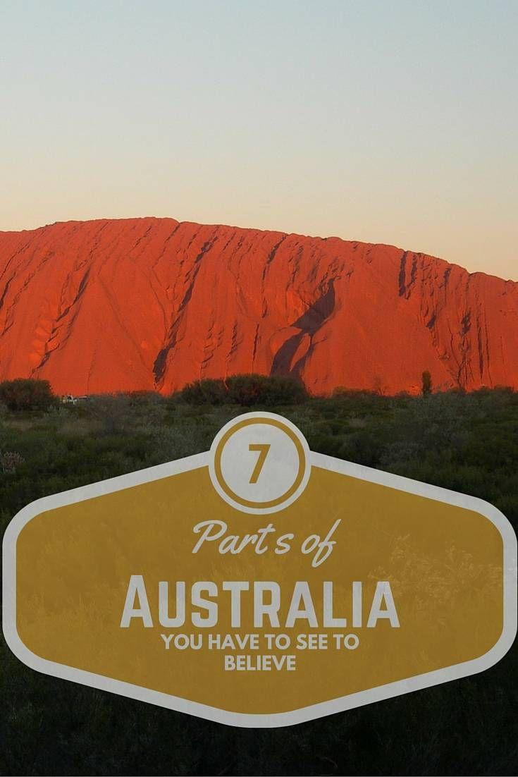 7 parts of Australia you have to see to believe