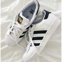 Tenis Zapatillas Adidas Superstar Blancas Hombre Y Mujer
