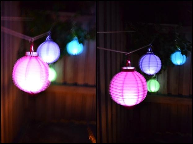 Garden lanterns..