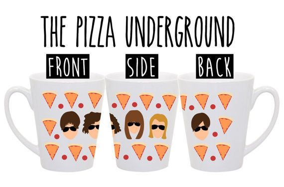 The Pizza Underground http://shop.nylon.com/collections/whats-new/products/the-pizza-underground #mug #coffee #nylonshop