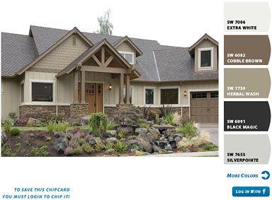 41 best exterior colors images on pinterest exterior colors color