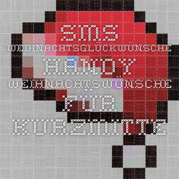 SMS Weihnachtsglückwünsche - Handy Weihnachtswünsche für Kurzmitteilungen