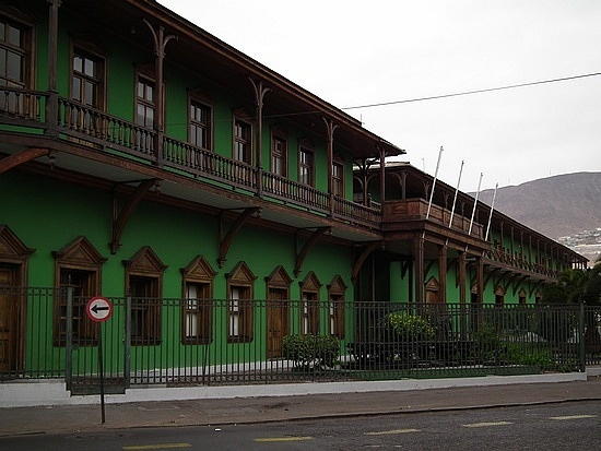 Railroad Station, Antofagasta, Chile, now a museum