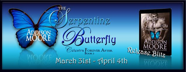 Smokin' Hot Reads: Release Day Blitz: The Serpentine Butterfly by Addison Moore