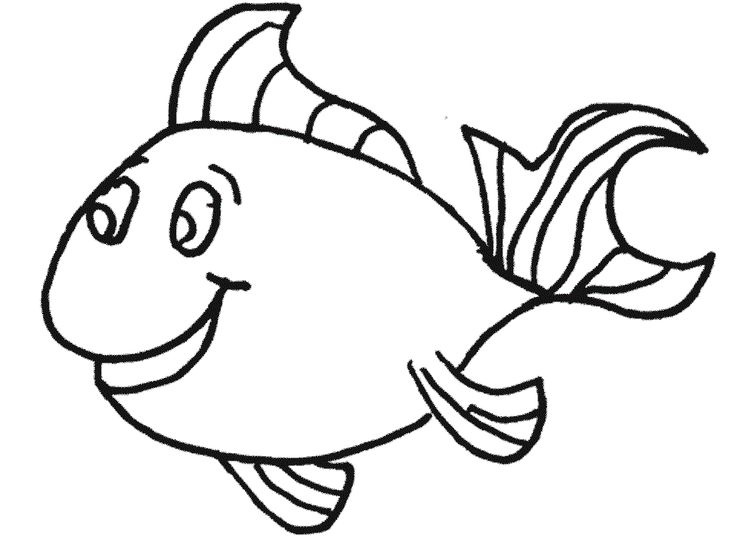 small fish with big eyes fish fish coloring page colouring pages dan coloring pages for kids. Black Bedroom Furniture Sets. Home Design Ideas
