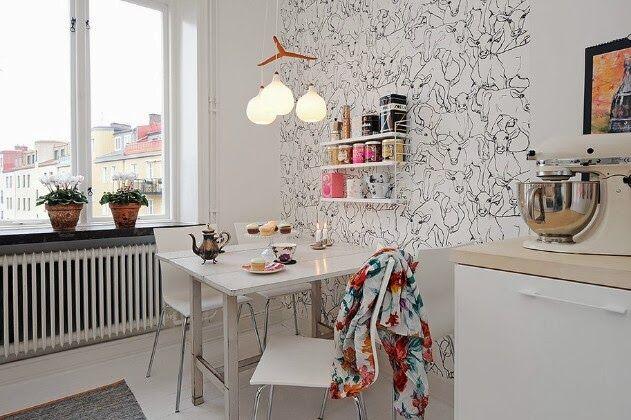 Стильный дом - Кухня в скандинавском стиле: 6 основных моментов