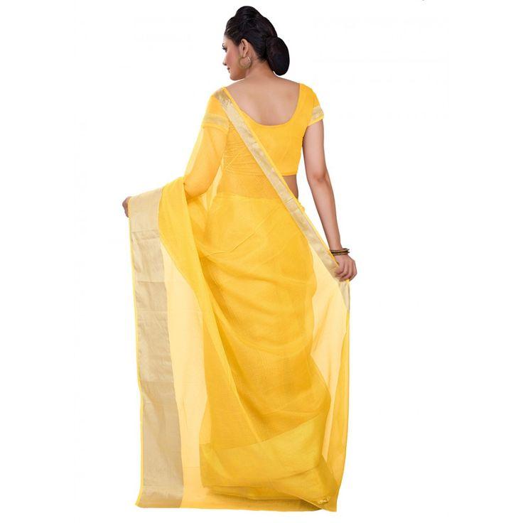 Buy Yellow kota Doria Sraee With Border #saree, #festivalsaree, #bucksbenefit #onlinesaree, #desigersaree, #partywearsaree, #colorfulsaree, #handworksaree