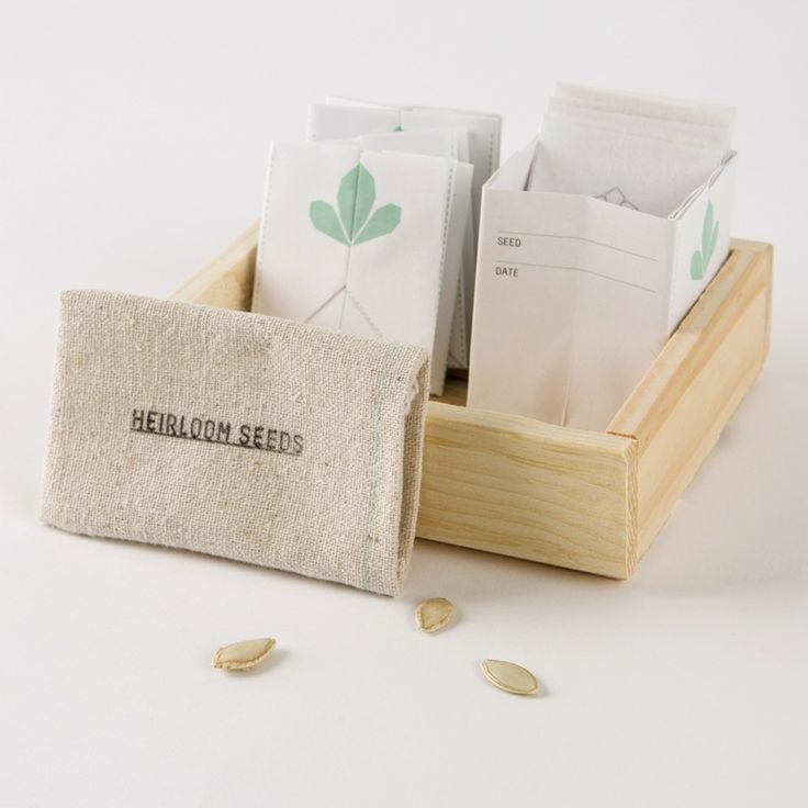 Take your gardening to the next level with this heirloom seed kit. go.brit.co/1KOIwOD