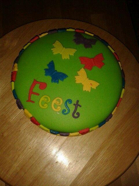 Feest taart voor op school