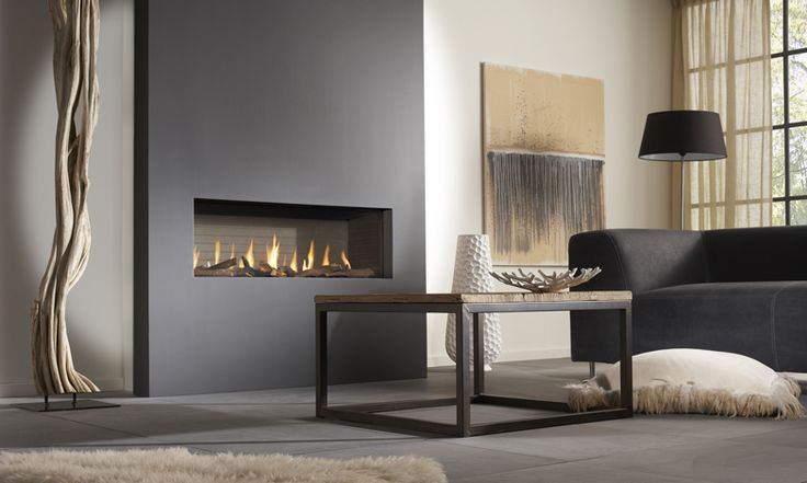 DRU Metro 100XT balanced flue gas fire | DRU - Designed to be different