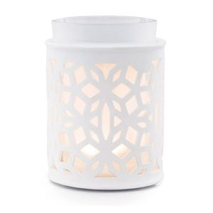 Electric Wax Warmer, Burner.  Home Fragrance Candle Alternative.  Darling White Scentsy Warmer.  Lifetime Warranty, £48