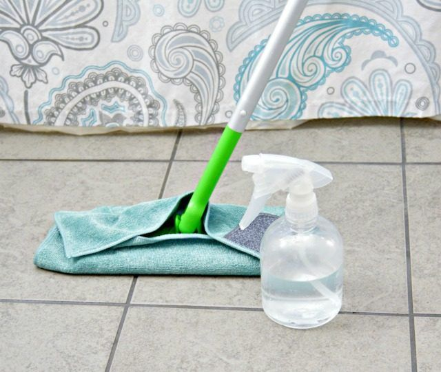 Grout is used to fill in the gaps between tiles, helping to hold them together and protect them from moisture. Shower tile grout is susceptible to mildew, dirt and soap scum and must be cleaned regularly. Commercial grout cleaners can be expensive. Save money and get your shower tile grout clean by using a homemade grout cleaner.