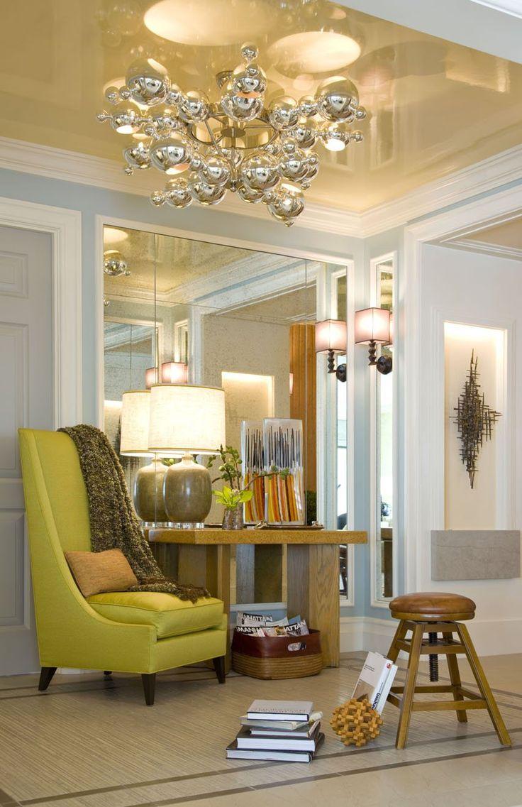 .: Interior Design, Design Inspiration, Chair, Antique Mirror, Favorite Places, Design Llc, Mirror Wall, Willey Design, Central Park