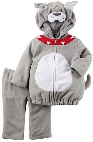 Pin for Later: 169 Warm Halloween Costume Ideas That Won't Leave Your Kids Freezing Little Bulldog Halloween Costume Carter's Little Bulldog Halloween Costume ($24)