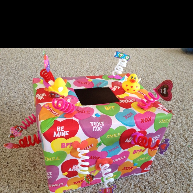 Valentine Decorated Boxes 134 Best Valentine's Day Images On Pinterest  Valentine Ideas