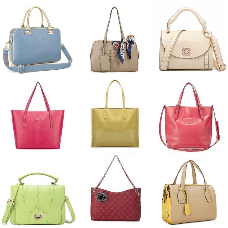 SALE! SCHNÄPCHEN! Damentaschen echt Leder Schultertaschen Handtaschen Bunt Taschen Jugend Style