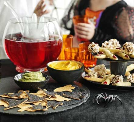 Create a fright-night feast for the kids before they go trick-or-treating