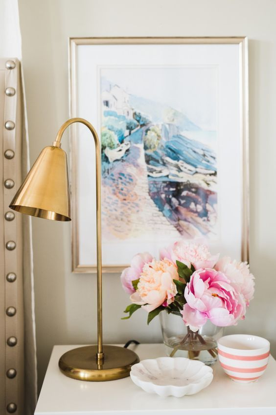 Scenic watercolor print: http://www.stylemepretty.com/vault/gallery/38376 | Photography: Jessica Kettle - http://lookthroughmylens.blogspot.com/