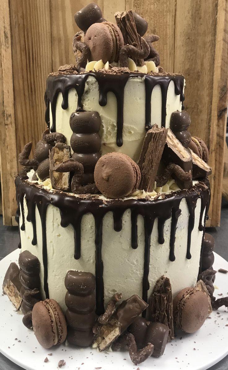 40th birthday cake for a chocolate love r chocolatecake