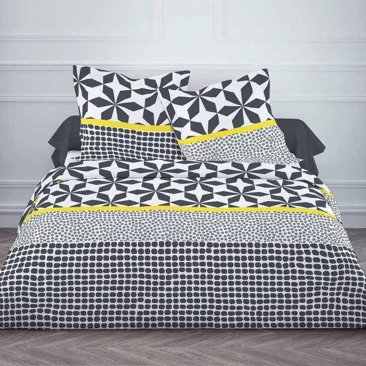 21 best housse de couettes images on pinterest comforters duvet covers and bedrooms. Black Bedroom Furniture Sets. Home Design Ideas
