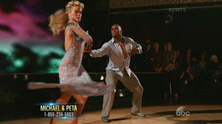 Michael Sam and Peta Murgatroyd <span class=meta>ABC</span>