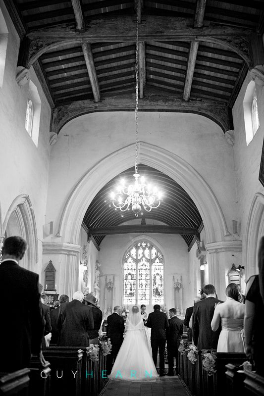 (C) Guy Hearn Photography  Church ceremony at the Church of St Mary Magdalene within the grounds of Hampden House