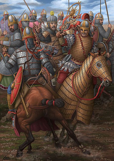 Battle of Satala was fought between the forces of the Eastern Roman (Byzantine) Empire and the Sassanid (Persian) Empire in summer 530. The Persian army approached the city to lay siege, when it was attacked in the rear by a small Byzantine force. The Persians turned back to meet them, but were then attacked by the main army from inside the city. A determined attack by a Byzantine unit led to the loss of the Persian general's flag, causing the panicking Persians to retreat.