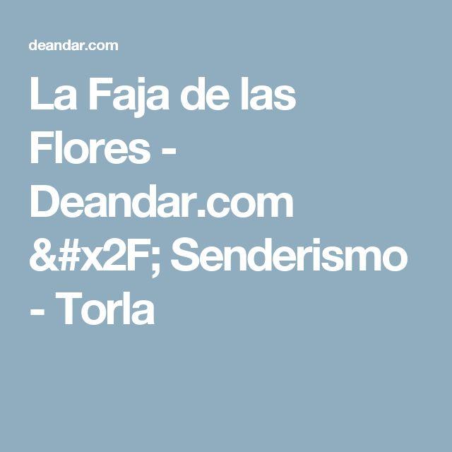 La Faja de las Flores - Deandar.com / Senderismo - Torla
