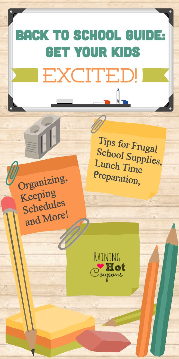 Back to School Guide: Tips for Saving Money on Supplies, Lunch Time, Schedules and More!