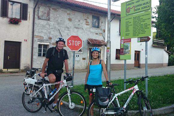 Dobrovo, sul Collio Sloveno