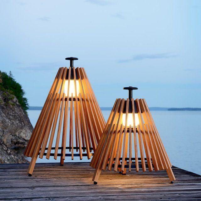 Fancy   Tipi Outdoor Floor Lamp