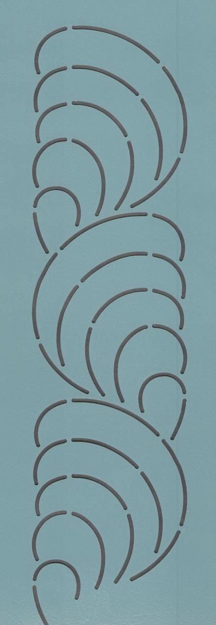 """Shell Border 3.5"""" - The Stencil Company"""