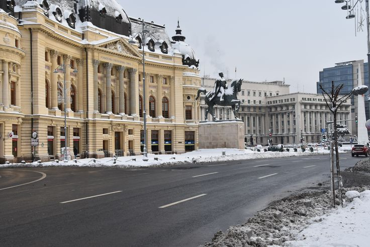 Revolution Square in Bucharest