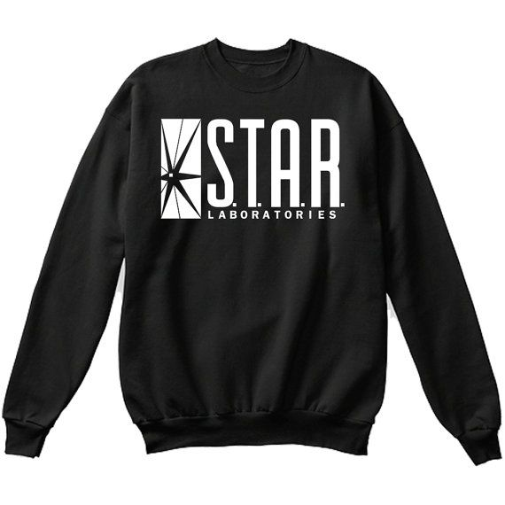 S.T.A.R Laboratories STAR Labs Sweater by DealsandThrills on Etsy