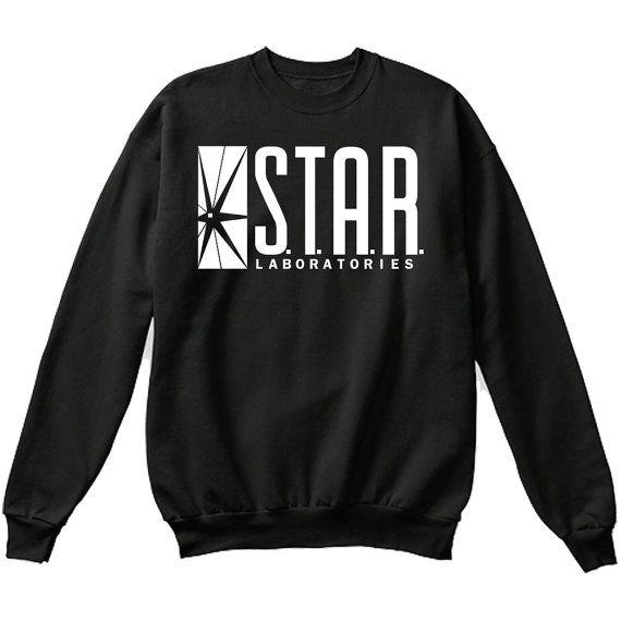 S.T.A.R Laboratorien Sterne Labs Pullover Sweatshirt Crewneck Pullover - Premium-Qualität