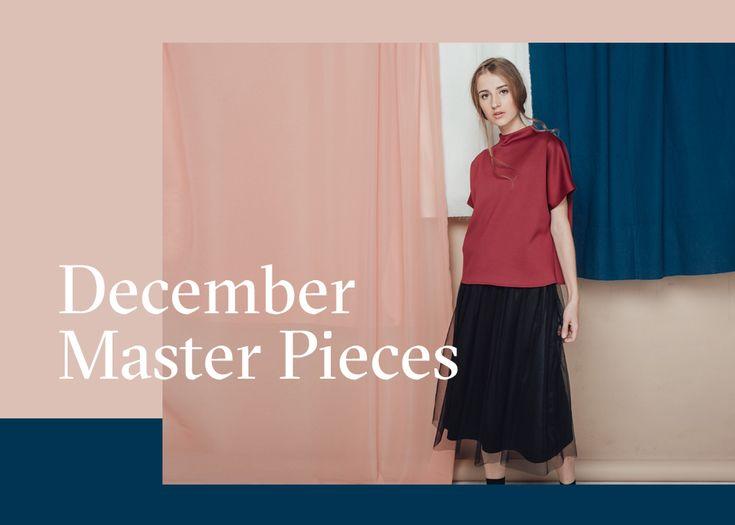 COTTONINK LOOKBOOK | DEC '16 | December Master Pieces Collection 01