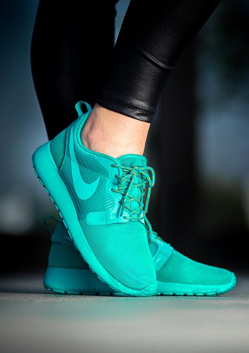 NIKE Laufschuh Roshe Run Hyperfuse turbo green