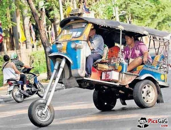 Rikshaw Public Transport