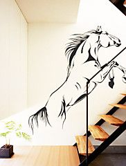 wall stickers Vægoverføringsbilleder, hest pvc wall stickers