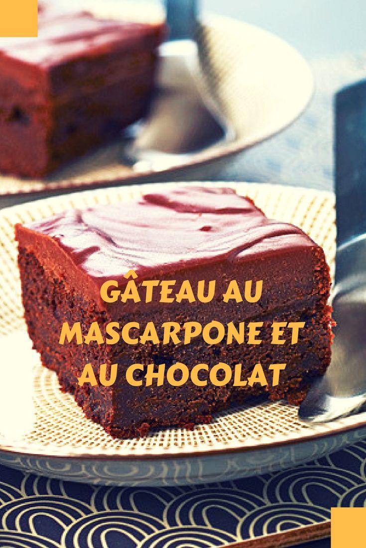 Ce délicieux gâteau au mascarpone et au chocolat va faire fondre les papilles de tous vos invités !