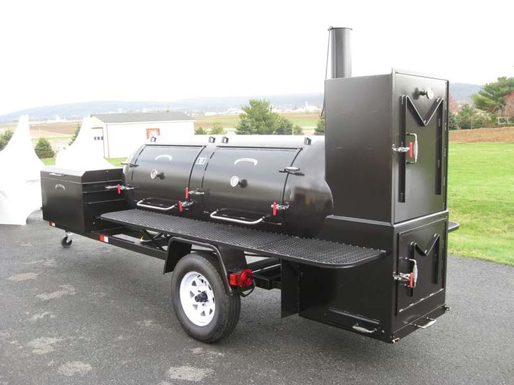 This Is My Dream Smoker On WheelsTo Bad It Costs A Small Fortune
