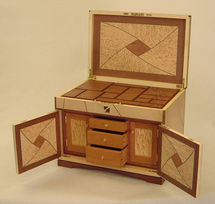 Bench Design Hidden Compartment Jewelry Box Plans