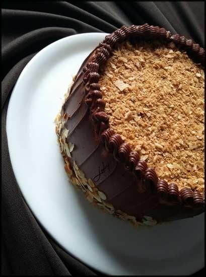 Gâteau à la ganache aux petits-beurre sans cuisson*