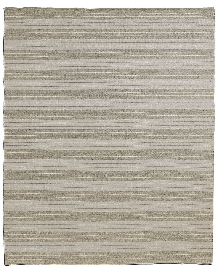 allweather recycled stripe outdoor rug sandwhite