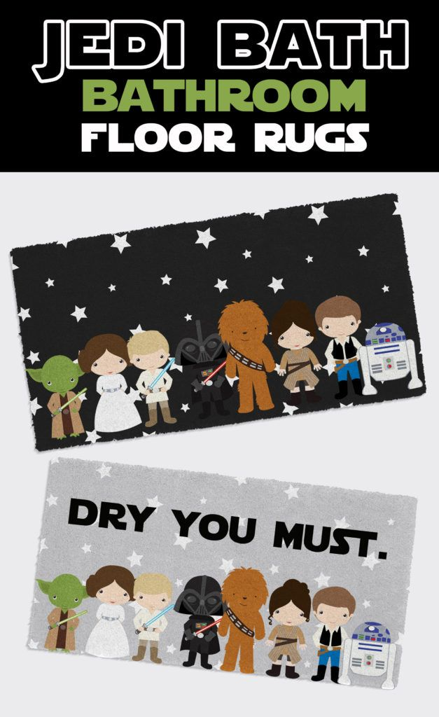 Cute Star Wars Kids Bathroom Rugs The Force Is Strong With This Bathroom Colorful Is Hap Star Wars Kids Bedroom Star Wars Bathroom Decor Kids Bathroom Art