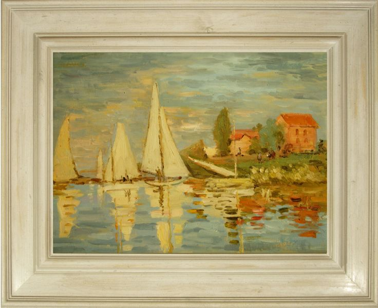 M s de 25 ideas nicas sobre cuadros famosos en pinterest obras de arte galeria de arte - Fotos de cuadros de monet ...