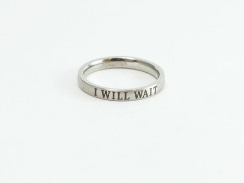 I Will Wait Stainless Purity Ring