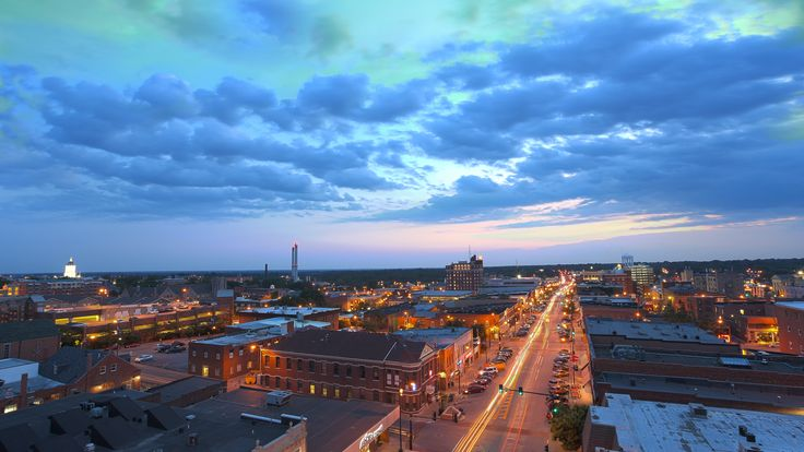 A great view of Columbia, MO
