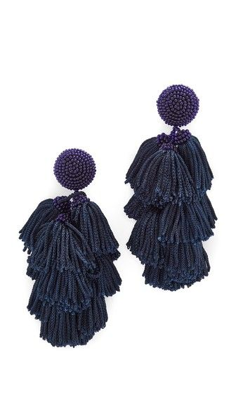 ¡Consigue este tipo de pendiente de Sachin & Babi ahora! Haz clic para ver los detalles. Envíos gratis a toda España. Sachin & Babi Cha Cha Fringe Clip On Earrings: Tonal beads and woven fringe create a festive look on these Sachin & Babi earrings. Clip on. Imported, India. Measurements Length: 3.25in / 8cm (pendiente, pendiente, earrings, earring, unerledigt, arete, en cours, in attesa, pendientes)